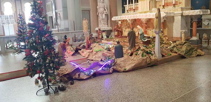 de Noël décoration sapin taille au choix Blanc Maison de campagne NEUF Impressionen chrétien